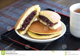 dorayaki japanese pancake dessert royalty free stock photography