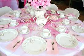 tea party tables party table setting ideas from party tables tea party table