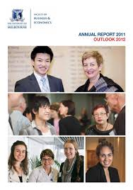 2011 annual report fbe by the faculty of business and economics