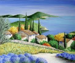 aquarelle paysages de provence recherche google art