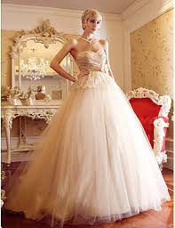 wedding dresses with sash ribbon a line princess court tulle wedding dress with