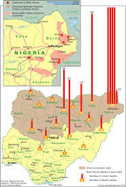 Map Of Nigeria Africa by How Terror Twists The Vote Article Africa Confidential