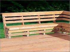 Wood Bench Plans Deck by Outdoor Deck Plans Deck Bench Plans Free Howtospecialist How