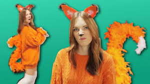 61 Awesome Last Minute Halloween Costume Ideas Today Com by Diy Fox Costume Last Minute Youtube