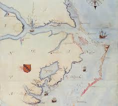 Map Of North Carolina Coast Nathaniel Batts Buried At Sea But Not Originally North