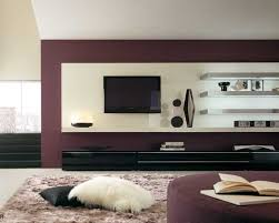 small living room ideas with tv brown stripes rug moden design