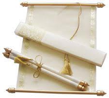 scroll invitation rods scroll invitations ebay