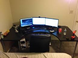 Corner Gaming Computer Desk Corner Gaming Computer Desk Woodwork Diy Plans Pdf Striking