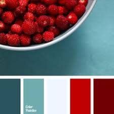 turquoise and red tag color palette ideas teal and red