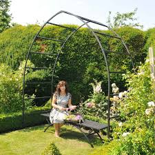 gothic garden arch plant supports at harrod horticultural