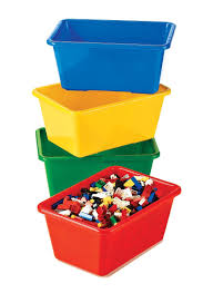 Lego Storage Containers Amazon - amazon com tot tutors kids u0027 primary colors small storage bins