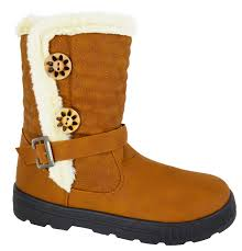 womens boots uk size 8 womens flat knee high fur lined warm winter pull on
