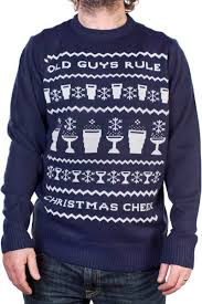christmas jumper guys rule christmas jumper blue with free uk delivery