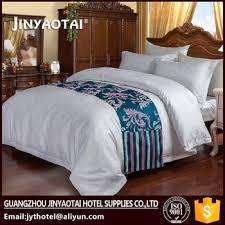 Single Bed Linen Sets Cotton Classic Design Luxury Hotel Super Single Bed Linen Quilt
