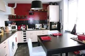 cuisine blanche et noir modele de cuisine blanche cheap modles de cuisine design italien