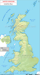 Map Of Ireland And England Uk Satellite Map Satellite Map Of United Kingdom