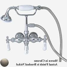 brushed nickel shower faucet 3 handle barclay city brushed nickel