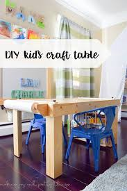 Diy Craft Desk Best 25 Craft Tables Ideas On Pinterest Diy Crafts Desk Kid