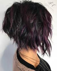 jagged layered bobs with curl latest short choppy haircuts for textured style short choppy