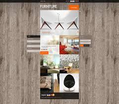 website template 34252 furniture store interior custom website