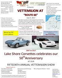 corvette clubs in ohio lake shore corvette