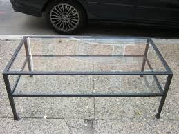 great wrought iron glass coffee table elegant ikea for pertaining