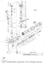 2005 f150tlrd yamaha outboard lower casing drive 1 f150 diagram