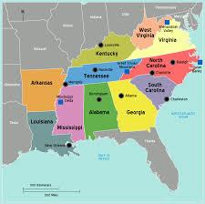 Georgia South Carolina Map Map Of South Carolina In The Usa Map Usa South Carolina South