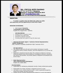 resume format for customer service executive fresh graduate engineer cv example resume template cover