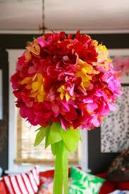 floral tissue paper tissue paper flower chandelier ilovetocreate