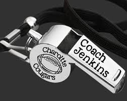 engraved football gifts coaches gift etsy