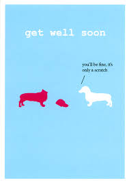 get well soon cards get well soon card by frankie whistle you ll be