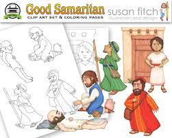 good samaritan clip art u0026 coloring pages