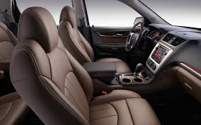 gmc terrain back seat 2013 gmc acadia first look 2012 chicago auto show motor trend