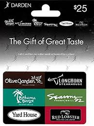 darden restaurants gift cards darden restaurants 25 gift card gift cards