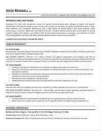 Nurse Resume Example New Graduate Registered Nurse Resume Examples Sample Resume123
