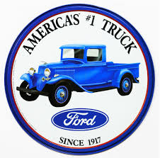 Vintage Ford Truck Accessories - ford americas 1 truck tin metal sign f150 f series garage the