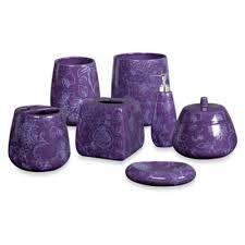 Purple Bathroom Accessories by Buy Purple Bathroom Accessories Decor From Bed Bath U0026 Beyond