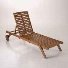 chaise longue transat chaise longue transat la redoute