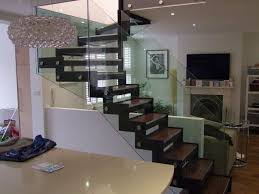 staircase design for small spaces l shaped stair design for small space with glass railing ideas