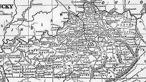 Kentucky Counties Map Kentucky Maps