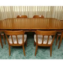 sophisticate by tomlinson mid century modern dining set ebth