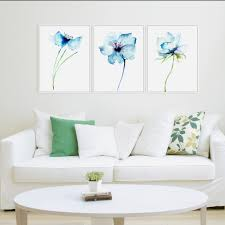 home decor wall aquarelle minimaliste alpine orchid礬e vintage poster prints simple