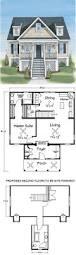 plan 55093br compact energy saving design country houses