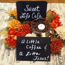 church retreat sweet life cafe retreat center piece my creations pinterest