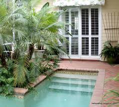 Home And Yard Design by A Beautiful Suburban Pool Fits Into A Tiny Yard Lush Awesome