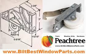 Replacing Patio Door Rollers by Peachtree Citadel Screen Door Roller Part Repair Kits Wheel