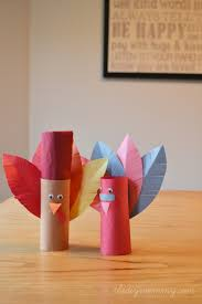 make turkey placeholders from toilet paper rolls a kid s