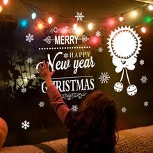 Happy New Year Window Decorations by Popular Window Decoration Happy New Year Buy Cheap Window