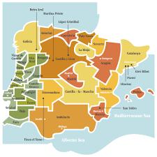 Espana Map Priorat Wine Map Best Ideas Of Wine